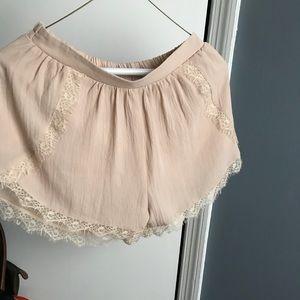 Lush lace shorts